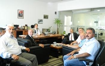 Asbir Yönetimi Medicana Sivas Hastanesi'ni Ziyaret Etti
