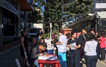 Medicana Çamlıca Hastanesi'nden Türkök'e Anlamlı Destek