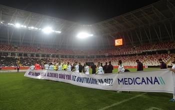 Medicana Sağlık Grubu ve Sivas Belediyespor'dan  Alzheimer Farkındalığı için Anlamlı Mesaj