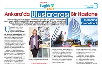 Ankara'da Uluslararası Bir Hastane