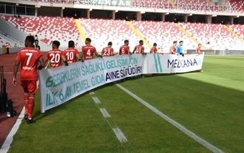 Demir Grup Sivasspor ve Medicana'dan Anne Sütü Farkındalığı