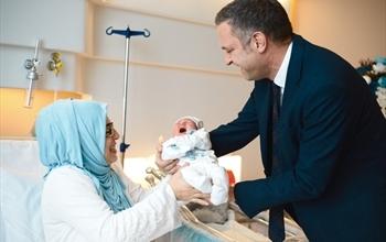 Medicana Bursa'da İlk Bebek Sevinci