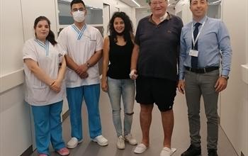 İngiliz hastaya Türk neşteri