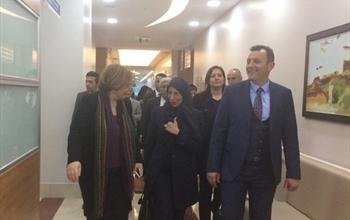 Katar Sağlık Bakanı, Medicana Ankara'yı Ziyaret Etti