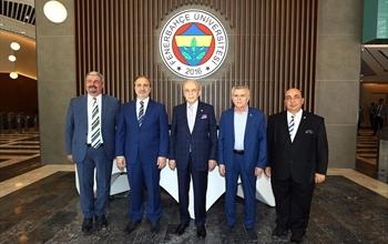 Fenerbahçe Üniversitesi 2019-2020 Akademik Yılı Mütevelli Heyet Tanışma Toplantısı Gerçekleştirildi