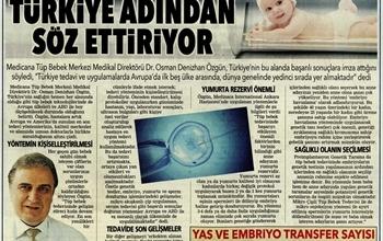 Tüp Bebek Uygulamalarında Türkiye Adından Sıkça Söz Ettiriyor, Başarılı Sonuçlara İmza Atıyor.