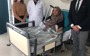 Rektum Kanseri Olan Iraklı hasta Şifayı Sivas'ta Buldu.