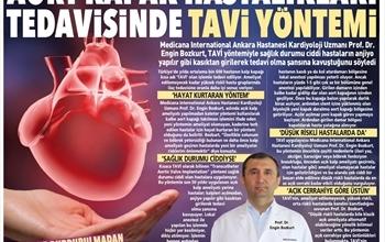 Aort Kapak Hastalıklarının Tedavisinde: TAVİ