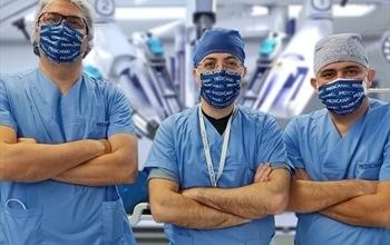 Tek anestezi, 2 robotik ameliyat, 3 cerrah